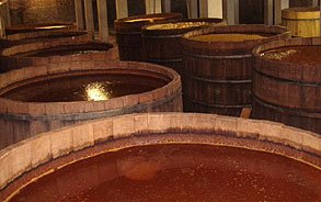Wood Fermentation Tanks